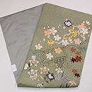 行儀小紋に四季の花文様名古屋帯 帯裏