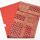インドネシア 絣に紋織りの名古屋帯 帯裏