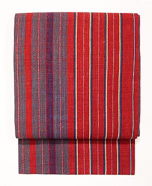 インドネシア バリ縞名古屋帯