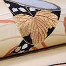 鼓胴の刺繍名古屋帯 質感・風合