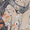 梅の古木文様袋帯 質感・風合