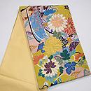 四季の花の刺繍綴れ袋帯 帯裏