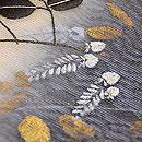 萩の刺繍水衣名古屋帯 質感・風合