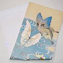 蝶ファミリーの刺繍夏袋帯 帯裏