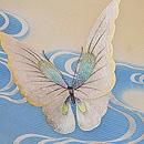 蝶の刺繍夏名古屋帯 質感・風合