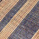 科布縞の名古屋帯 質感・風合