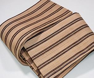 芭蕉布双子縞の半幅帯