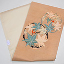楓丸紋刺繍名古屋帯 帯裏