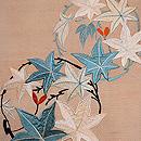 楓丸紋刺繍名古屋帯 質感・風合