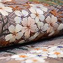 桜風景文様刺繍袋帯 質感・風合
