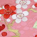 花車刺繍袋帯 質感・風合