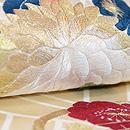 新春の刺繍名古屋帯 質感・風合