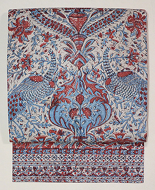 インド更紗名古屋帯