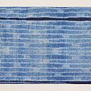インド藍染め絞り名古屋帯 前柄