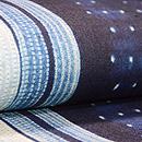 インド藍染め絞り名古屋帯 質感・風合