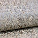 グレー紋織り半巾帯 質感・風合