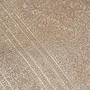 金地紋織り半巾帯 質感・風合