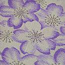 桜散る半巾帯 質感・風合