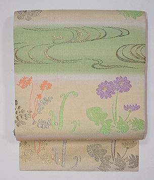 春野の織り名古屋帯