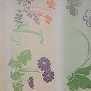 春野の織り名古屋帯 前柄