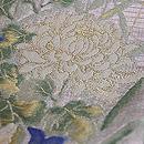 百花繚乱の織 夏の袋帯 質感・風合