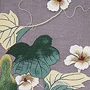 ひょうたんの刺繍名古屋帯 質感・風合