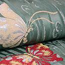 蝶々の織名古屋帯 質感・風合