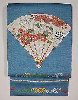 龍村製 仁清扇夏の袋帯