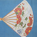龍村製 仁清扇夏の袋帯 前柄