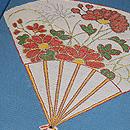 龍村製 仁清扇夏の袋帯 質感・風合
