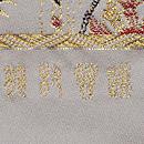 龍村晋製 孔雀更紗錦袋帯 織り出し