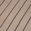 縞芭蕉布名古屋帯 質感・風合