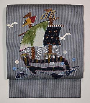 帆船コラージュの名古屋帯