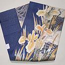 菖蒲の刺繍開き名古屋帯 帯裏