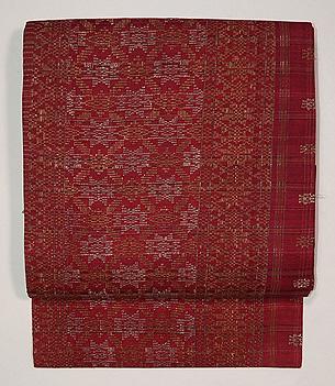 インドネシア紋織り名古屋帯