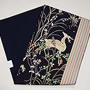 鹿の刺繍名古屋帯 帯裏