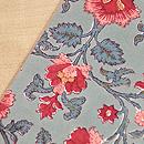 和更紗に紬の切り継ぎ名古屋帯 質感・風合