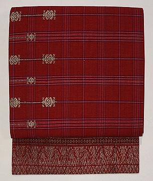 インドネシアモール織り名古屋帯