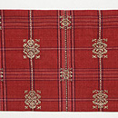 インドネシアモール織り名古屋帯 前柄