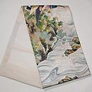 深山幽谷文様刺繍の袋帯 帯裏