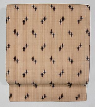 芭蕉布重ね井桁の名古屋帯