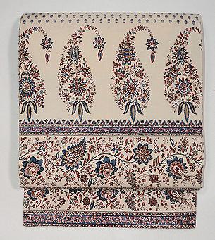 インド渡りヨーロッパ更紗の名古屋帯