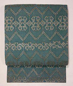 インドネシアモール織の名古屋帯
