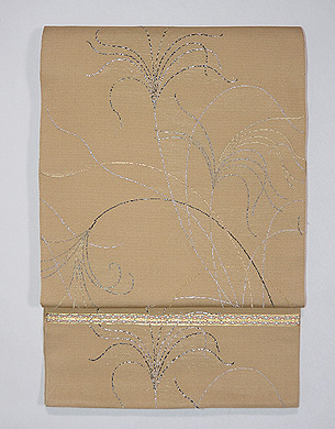 龍村平蔵製 糸すすき錦袋帯