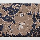 牡丹の織り名古屋帯 前柄