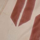 矢羽根の錦紗小紋 質感・風合