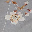 枝垂れ桜の暈し訪問着 質感・風合
