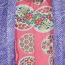 疋田に春花の刺繍羽織 羽裏