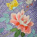 疋田に春花の刺繍羽織 質感・風合