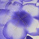 麻の葉に桜の小紋 質感・風合